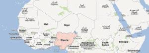 Le Nigeria dans Google Maps