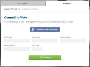 Application Facebook Barack Obama
