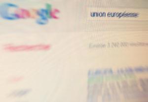 Plainte contre Google