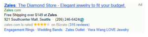 Sitelink Extensions Bing Ads