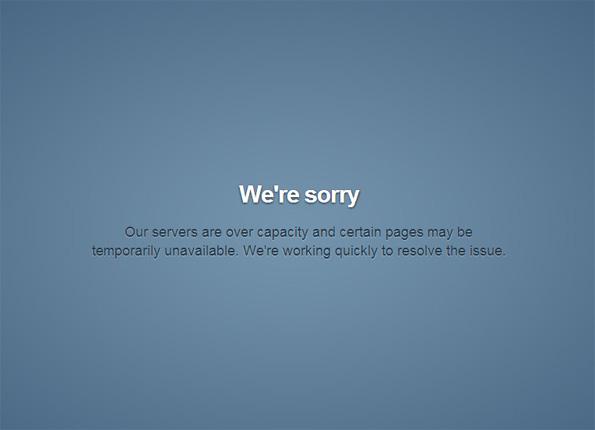 Tumblr inaccessible, down, kaputt !