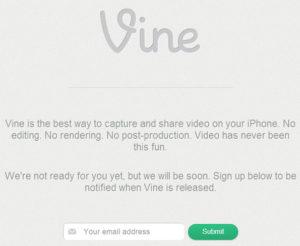 Vine: société de vidéo clip rachetée par Twitter