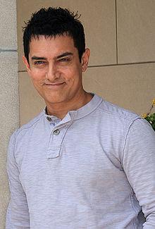 Aamir Khan, acteur, réalisateur et producteur indien de Bollywood