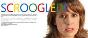 Scroogled: la campagne de dénigrement lancée par Bing
