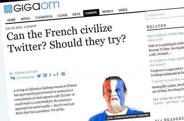 GigaOM: Les Français peuvent-ils civiliser Twitter et Internet ?