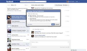 Messages privés payants sur Facebook