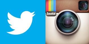 Twitter contre Instagram