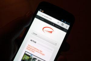 Expérience utilisateur: Ya-graphic.com sur mobile