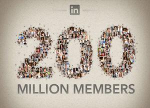 LinkedIn: 200 millions de membres