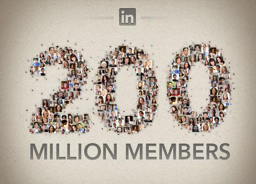 LinkedIn et ses 200 millions de membres (actifs?)