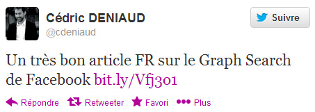 Cédric Deniaud sur Twitter