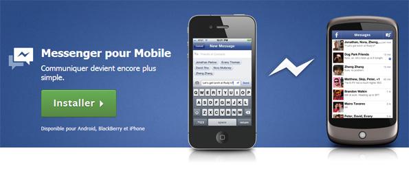 Facebook Messenger permet de téléphoner gratuitement