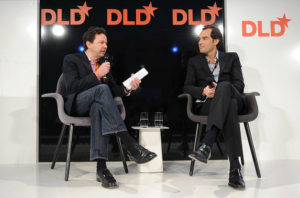 Henrique De Castro à la conférence DLD (Munich, Allemagne)
