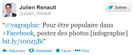 Julien Renault sur Twitter