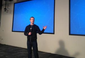 Mark Zuckerberg en conférence