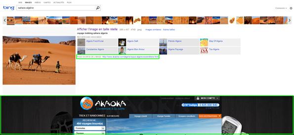 Moteur de recherche d'images Bing Images