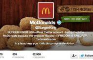 Le compte Twitter de Burger King sauvagement piraté