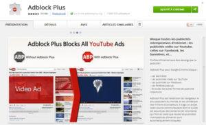 Adblock Plus pour bloquer les pubs de YouTube