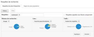 Filtre image dans Google Webmaster Tools