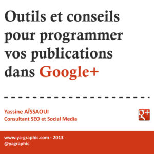 Programmer posts dans Google+