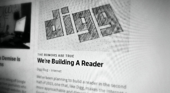 DIGG est en train de créer un nouveau Google Reader