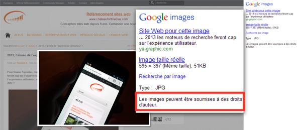 Google images: Faut-il utiliser les images des moteurs de recherche pour son site ?