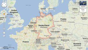 Google Maps Allemagne menacé de fermeture