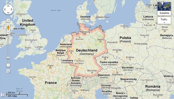 Google Maps risque de fermer en Allemagne