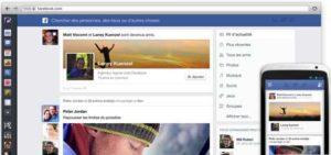 Nouveau fil d'actualités de Facebook