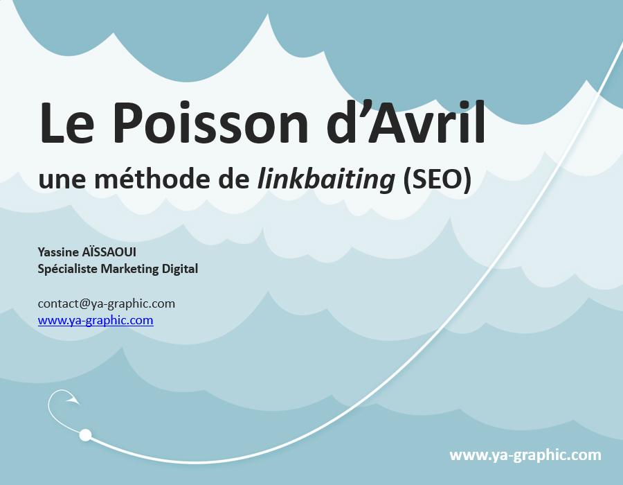 Le poisson d'avril, une méthode de linkbaiting (SEO)