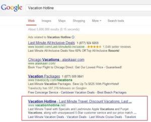 Résultats de recherche de Google.com