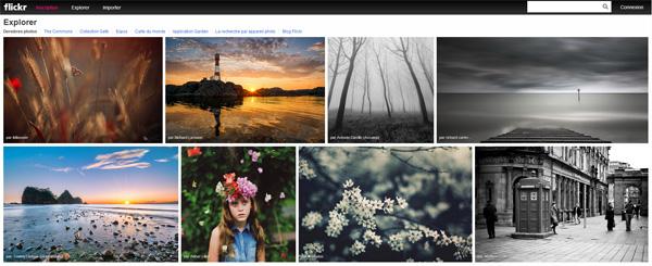 Le nouveau Flickr