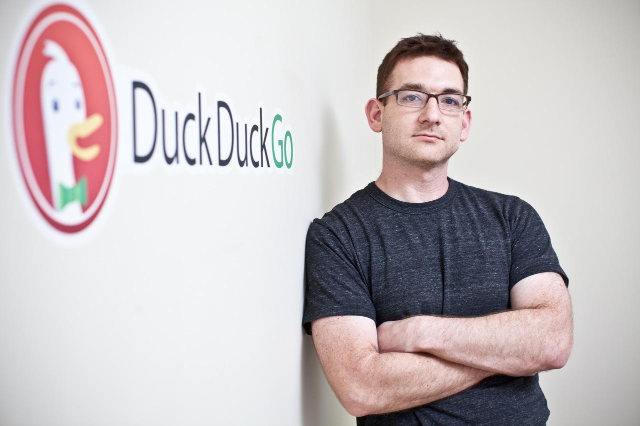Gabriel Weinberg, fondateur du moteur de recherche DuckDuckGo (concurrent affirmé de Google)