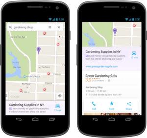 Gizmodo.com critique les annonces publicitaires dans Google Maps mobile