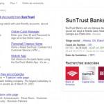 Knowledge Graph de SunTrust Banks, une banque dont le siège social est situé à Atlanta.