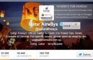 Social Media : Concours « Où est le Panda ? » de Qatar Airways