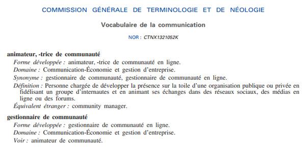 « Community Manager », ce terme étranger qui appauvrit la langue française