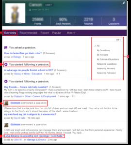 Le nouveau Yahoo Answers
