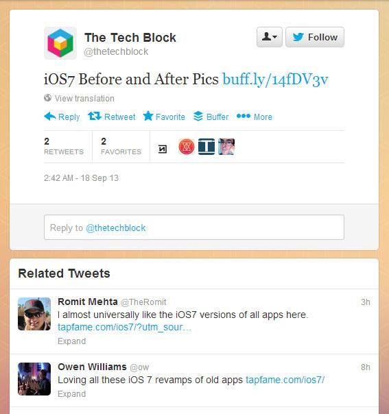 Twitter teste les « Related Tweets » (tweets connexes)