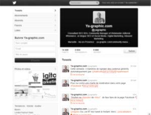 Twitter: la résolution d'écran de 768x1024