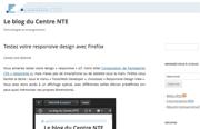 Blog Centre NTE : Testez votre responsive design avec Firefox