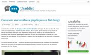 usaddict : Concevoir vos interfaces graphiques en flat design