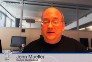 John Mueller de Google Zurich