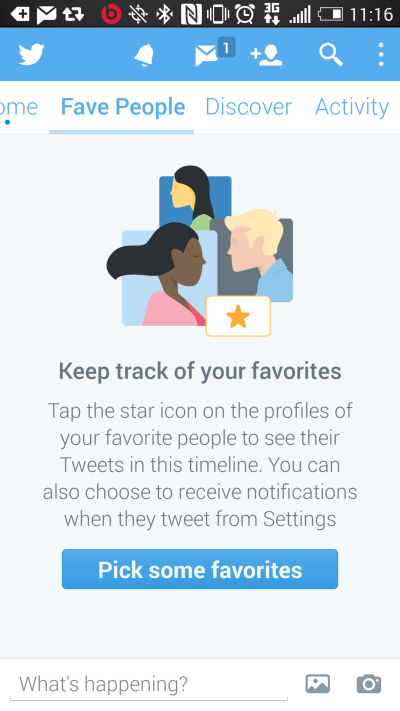 Faut-il craindre « Fave People » de Twitter ?