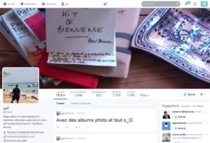 Nouveau design de Twitter