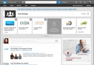 Nouveau dans les groupes LinkedIn