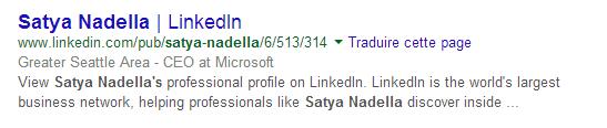 Satya Nadella, patron de Microsoft