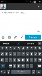 Nouvelle version Hootsuite mobile