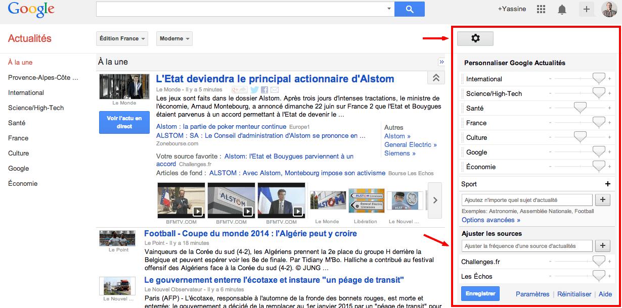 Google-Actualites-reglages