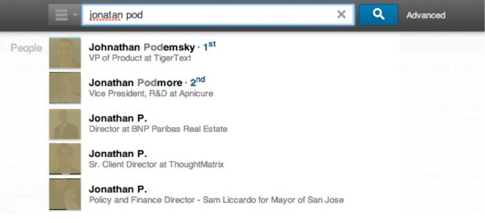 Galene de LinkedIn : recherche instantanée